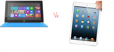 iPad 4 vs Microsoft Surface