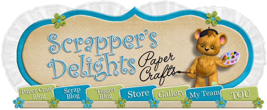 Scrapper's Delights Paper Crafts