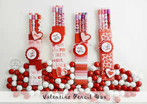 Valentine's Day Pencil Box Makes a Fun Gift
