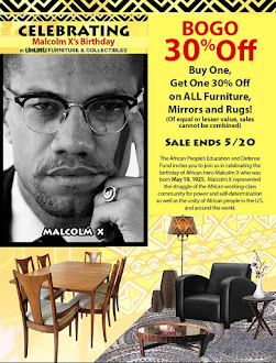 Celebrating Malcolm X's Birthday! BOGO 30% Off!