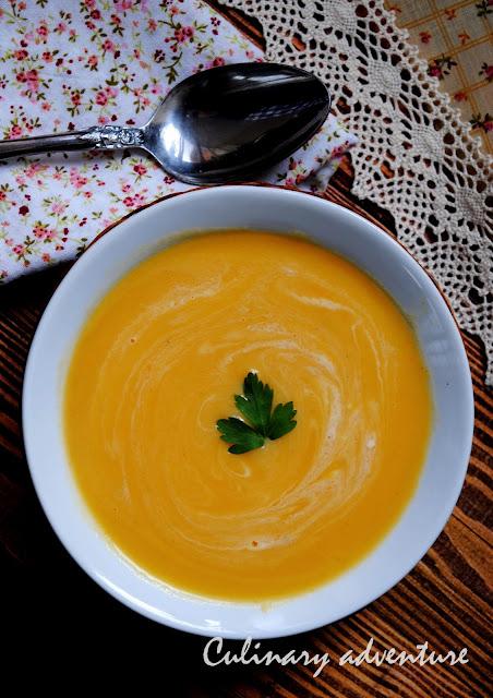Есенно-зимна супа с тиква карфиол и праз / Leek Pumpkin and Cauliflower Soup