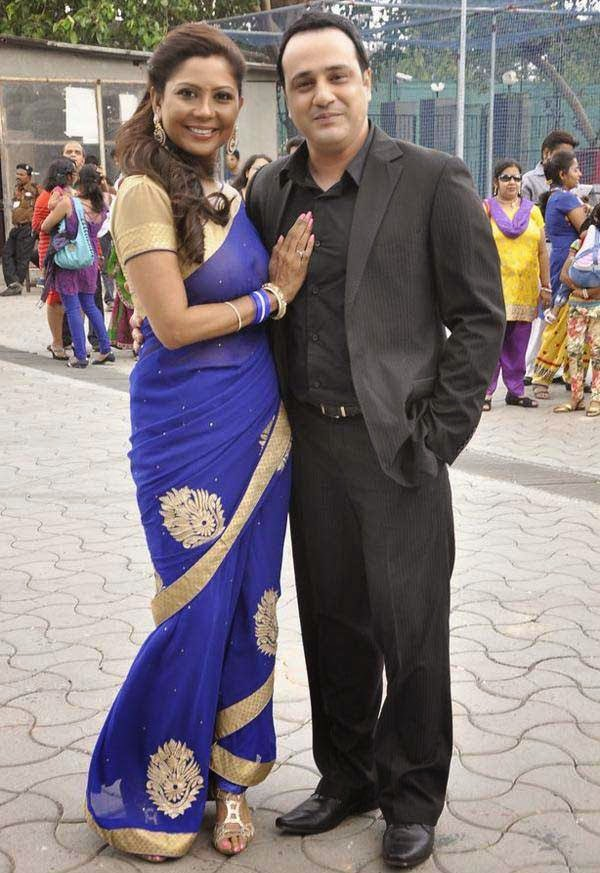 Manini Mishra and Mihir Mishra At The Star Parivaar Awards 2014
