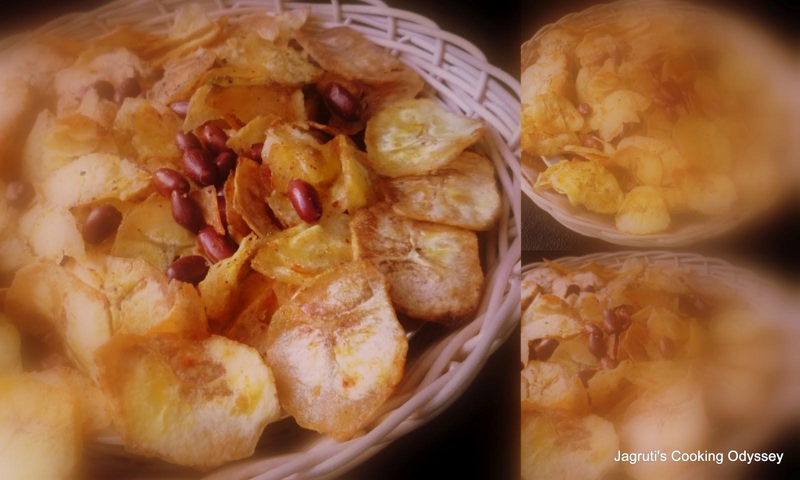 Kacha Kela Recipe