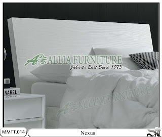 Kepala Tempat Tidur Modern Minimalis Nexus 160 X 200
