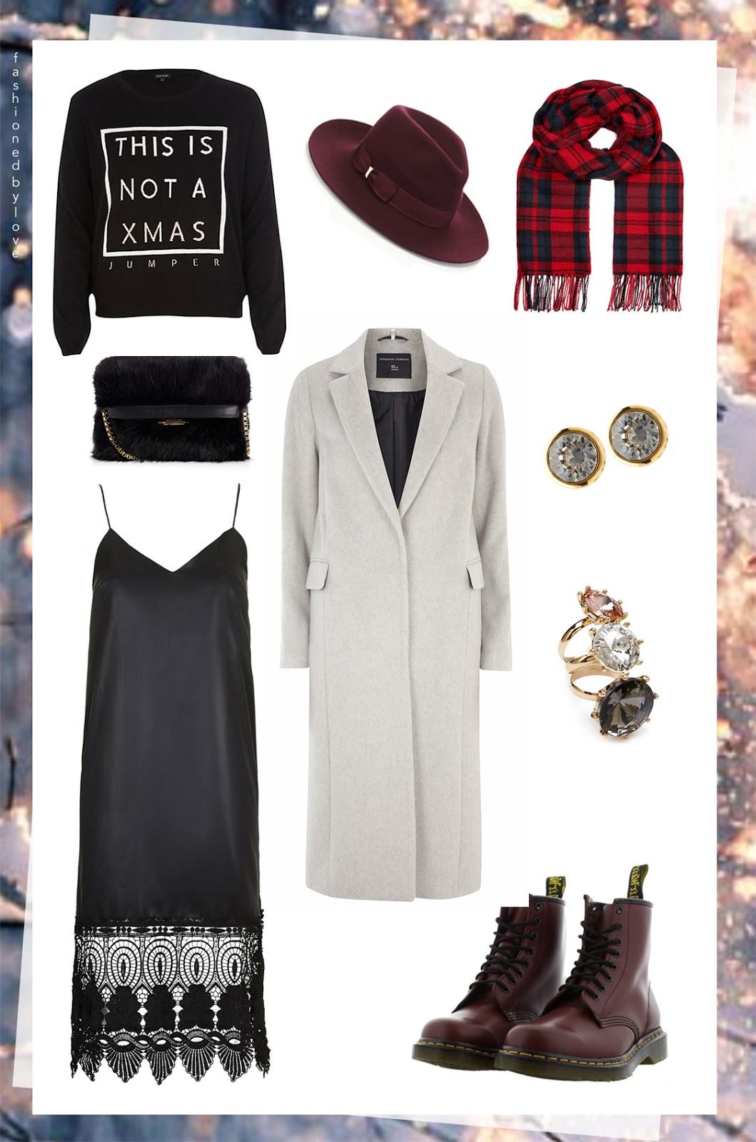 via fashioned by love | Christmas outfit idea