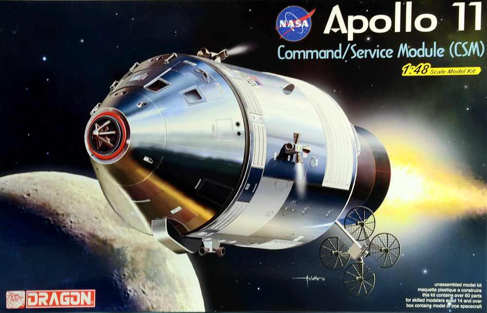 MORE APOLLO 11 SPACECRAFT KITS FROM DRAGON - AND THIS TIME ...