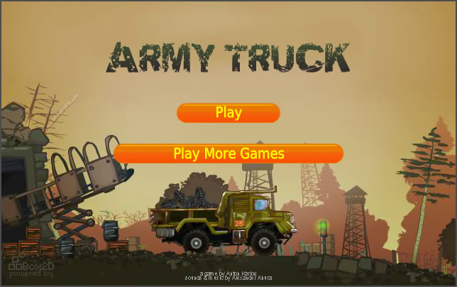 Truck Game : Army Transport