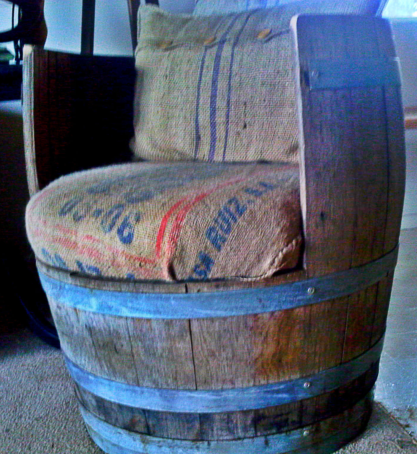 reclaimed wine barrel furniture old whiskey barrel arched napa valley wine barrel table