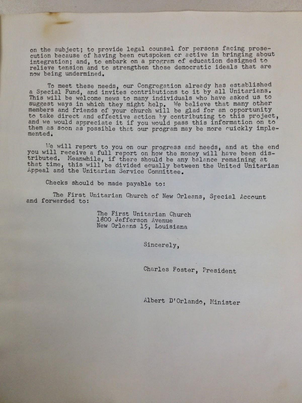Letter Format for University Entrance