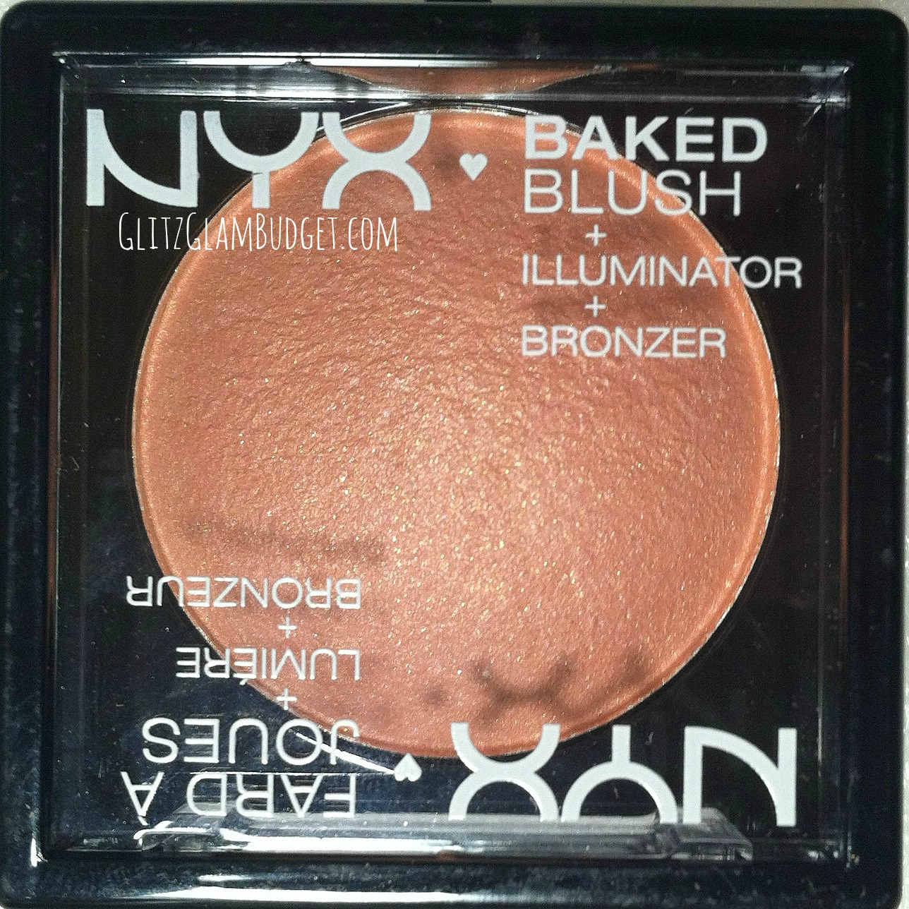 NEW NYX Cosmetics Baked Blush in Sugar Mama Swatch and Review
