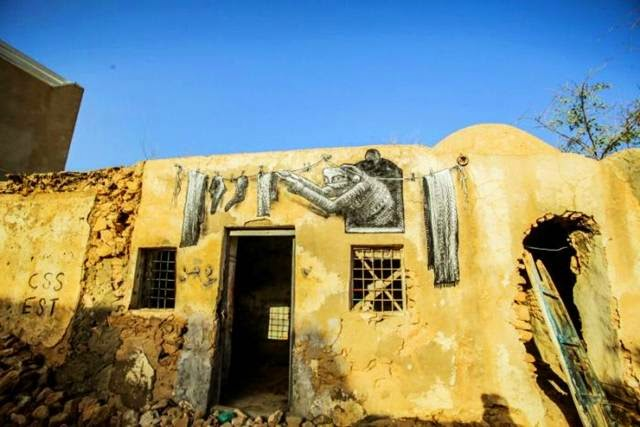 """Djerba — The """"Island of Dreams"""" in Tunisia which is filled with street art"""