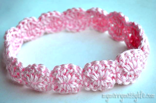 Free Patterns To Crochet Baby Headbands : Crochet Shell Headband {free crochet pattern}