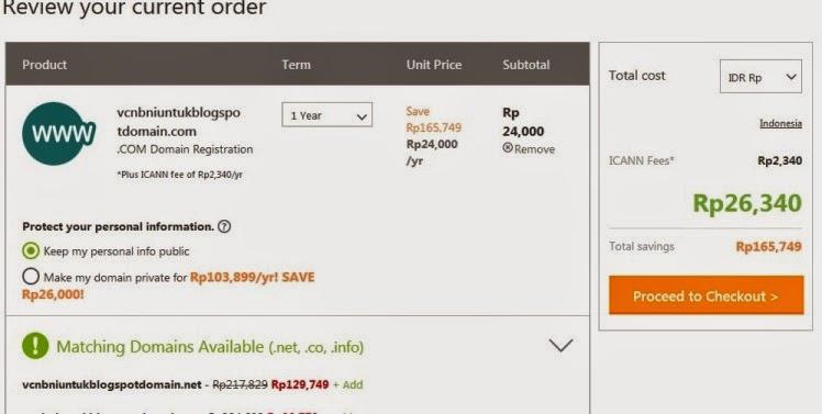 tips membeli domain murah di godaddy