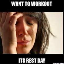 Even though you want to do Zumba everyday, it may be better to take a rest day.
