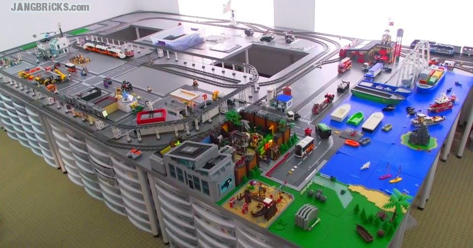 JANGBRiCKS LEGO City update & walkthrough Feb. 27, 2014