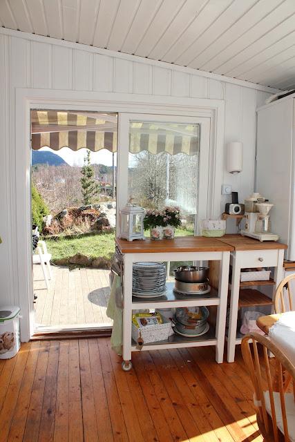 Lisemorshave: hyttekjøkken