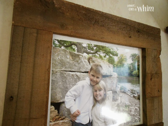 An Easy Rustic Photo Frame from Denise on a Whim