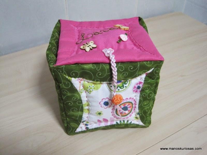 caja tesoros patchwork