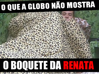 Vdeo BBB   Boquete Renata no Ronaldo