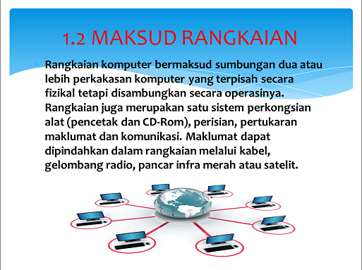Teknologi Maklumat Komunikasi Tahun 5 Definisi Kegunaan Rangkaian