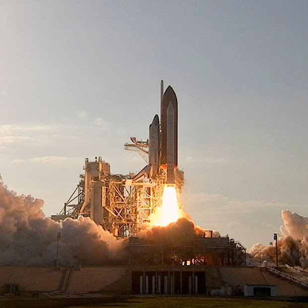 Space shuttle Discovery lifts off on Feb. 24, 2011 at 4:53 p.m. EST