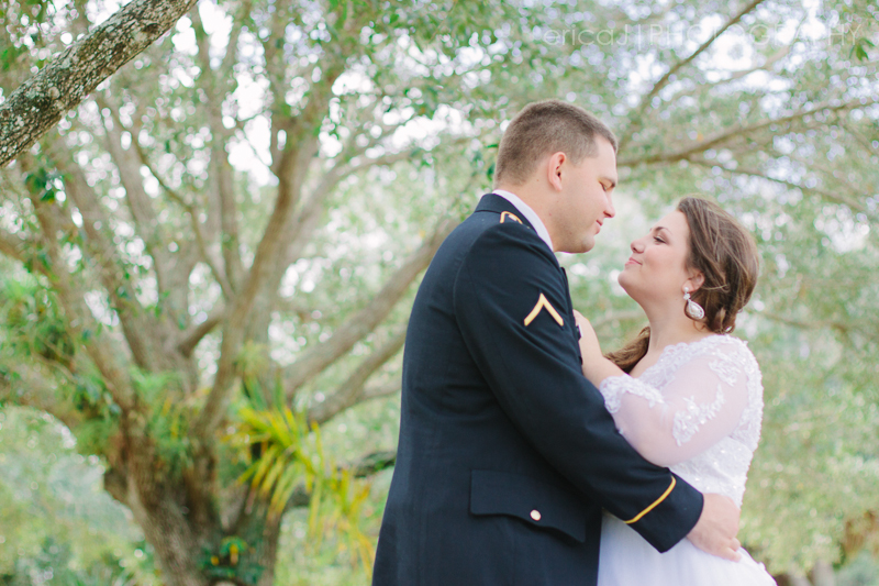 bride groom army dress blues wedding