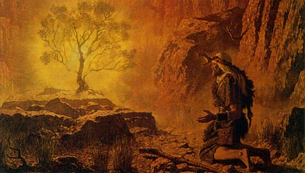Streams Of The River Burning Bush And Voice Lord