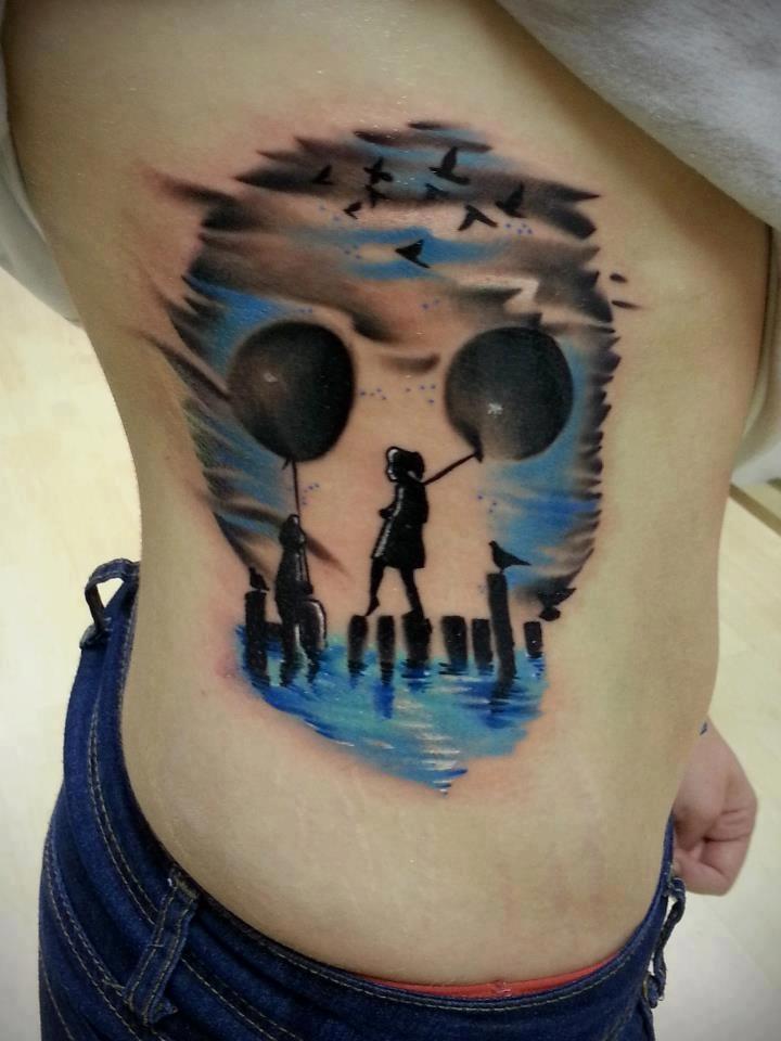 Side Skull Tattoos