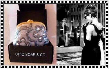 Jabón de Película, temática Imagenes de Audrey Hepburn en Desayuno con Diamantes