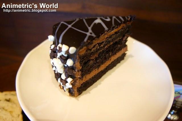 Starbucks Triple Chocolate Cake
