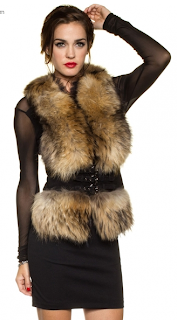 STAY FABULOUS FUR VEST