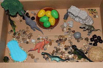 Dinosaur Land Sensory Tub