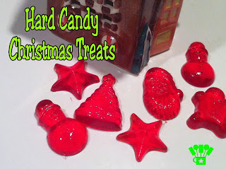 Hard Candy Christmas Candy Treats DIY.  Both easy and yummy for a sweet Christmas tradition!