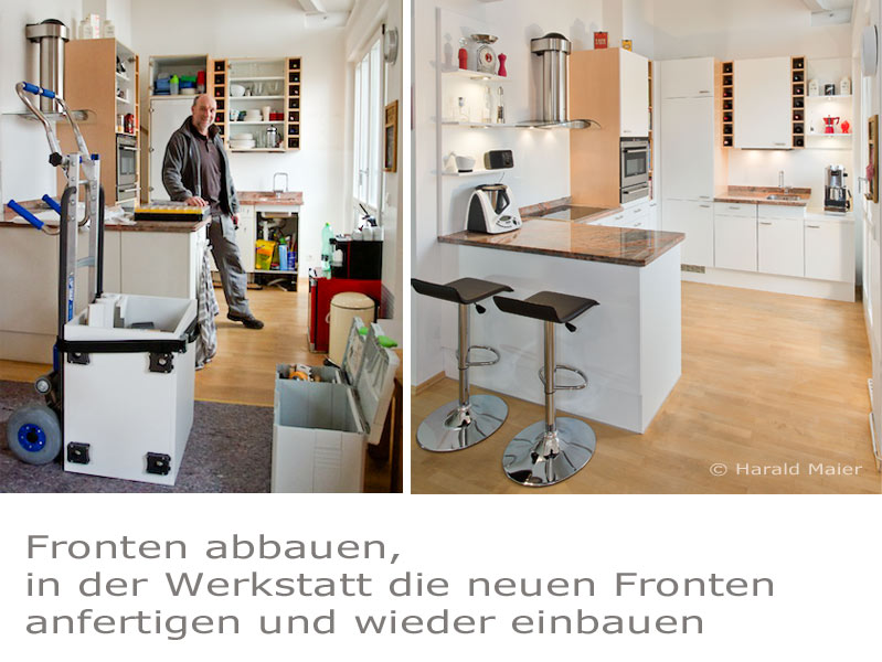 wir renovieren ihre k che kuechenfronten. Black Bedroom Furniture Sets. Home Design Ideas