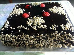 moist cake coklat