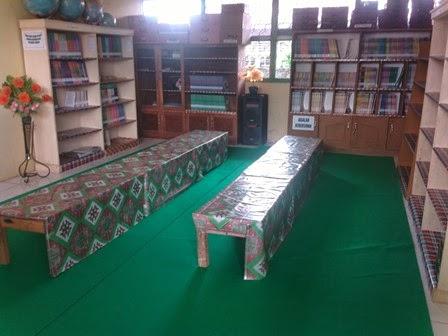 Desain Sederhana Tata Ruang Perpustakaan SD Negeri 149/VIII Muara Tebo