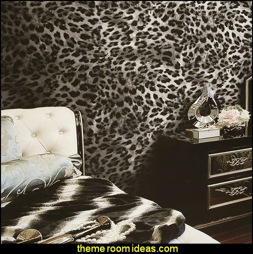 Decorating theme bedrooms maries manor animal print for Cheetah themed bedroom ideas