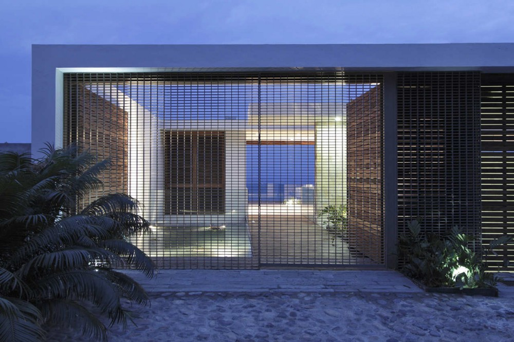House by the sea modern design by for House gate design architecture