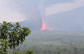 """Nyamuragira-Volcanic-Eruption"""
