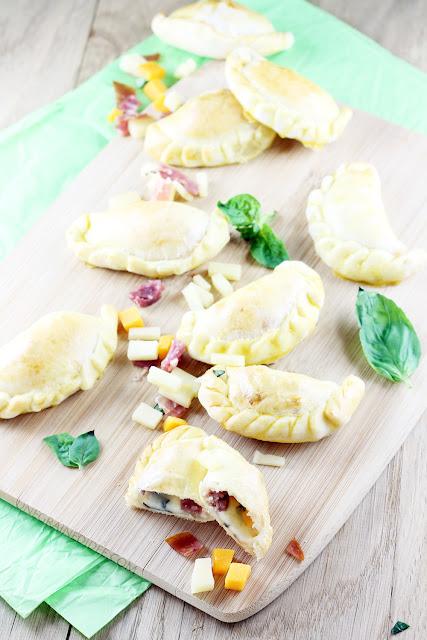 Empanadas Jambon Comté Mimolette Basilic