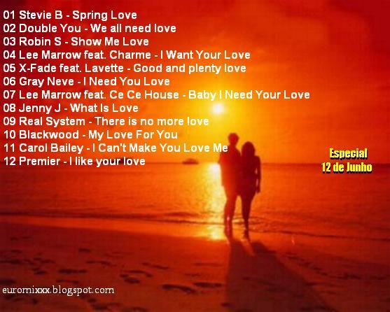 Euromix Especial Love Volume 1 (Dia dos Namorados)