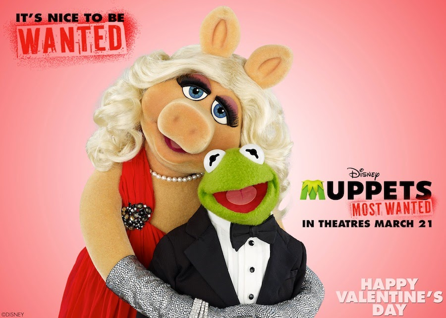 Muppets Most Wanted -March 21