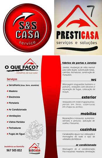 S&S CASA E PRESTICASA A SOLUÇÃO QUE PROCURA