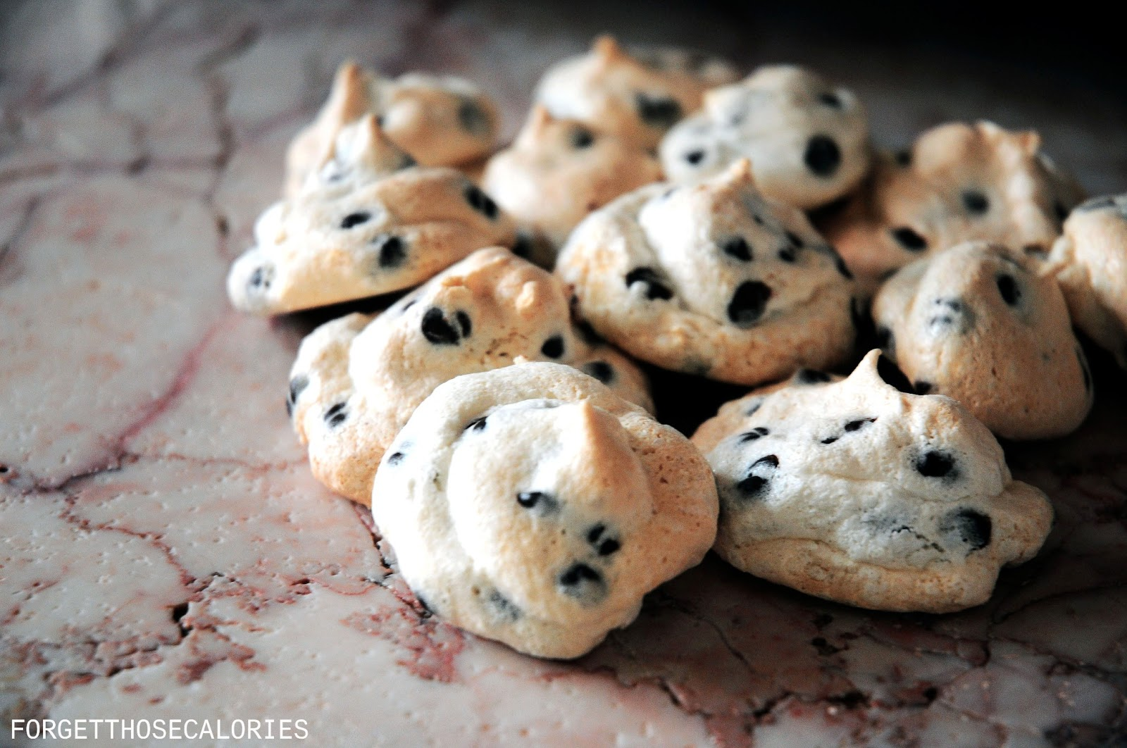 Chocolate Chip Meringue Cookies Recipe | TasteSpotting
