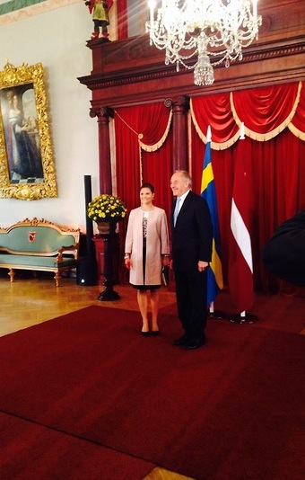 The president also pointed out to the successful and productive visit by His Majesty King of Sweden Carl XVI Gustaf and Her Majesty Queen Silvia to Latvia this past March