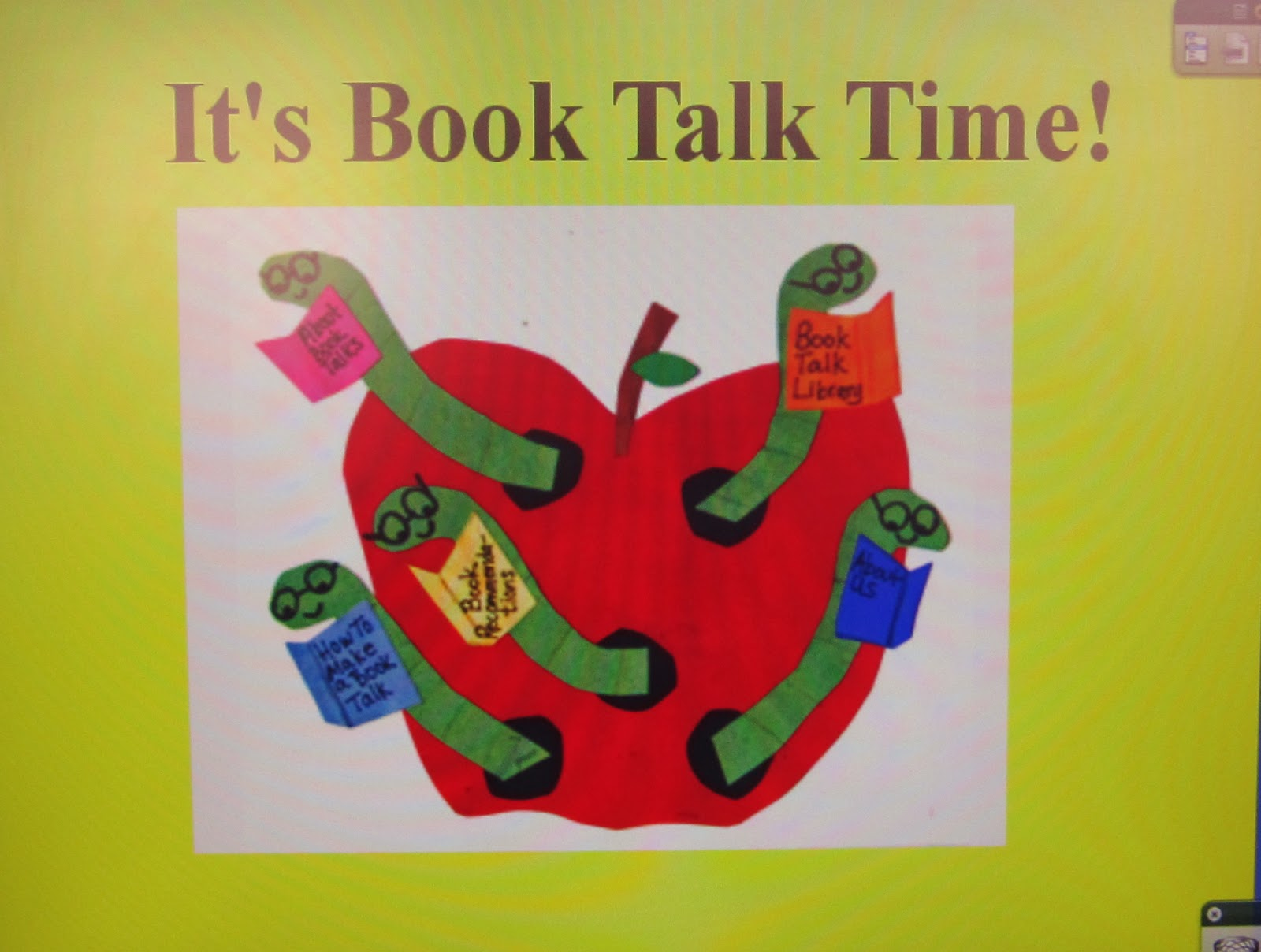 how to write a book talk