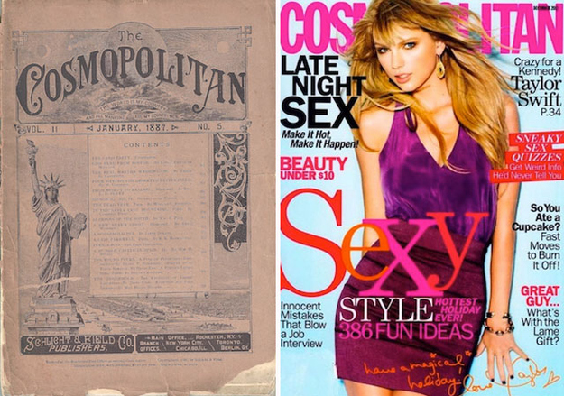 Women S Magazines Then And Now Vintage Everyday