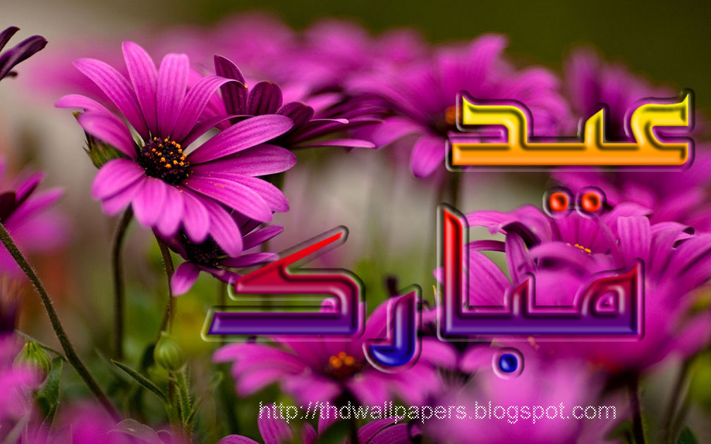 Free eid mubarak cards red flowers black backgrounds urdu text m4hsunfo Image collections