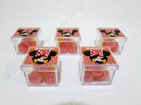 Lembrancinhas Personalizadas Minnie Vermelha - Caixinhas