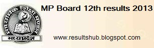 www.mpbse.nic.in - MP Board 12th results 2013